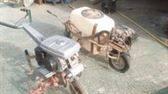 Motocultor y fumigadora
