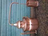 Alambiques de cobre. Todos los tamaños