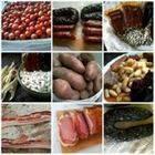 morcillas,morcila,fabes,fabas,chorizos alubias de Asturias