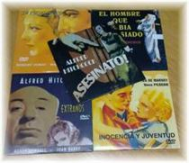 VENDO DVDs DE HITCHCOCK II