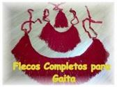 VENDO FLECOS COMPLETOS ROJOS PARA GAITA