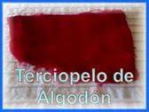 VENDO TERCIOPELO DE ALGODON PARA VESTIDOS GAITAS
