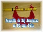 VENDO RONQUILLO DE BOJ AMERICANO EN DO PARA GAITA