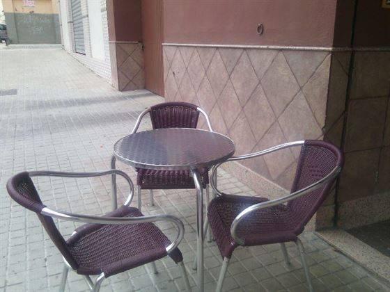 Conjunto terraza