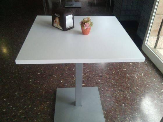 Mesas cafeteria