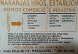 NARANJAS HERMANOS ESTARLICH MASALAVES