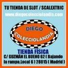 TIENDA SCALEXTRIC - SLOT EN MADRID  DIEGO COLECCIOLANDIA