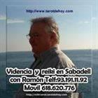 Tarot en persona en Sabadell con Ramon 931911192 o por telefono