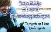 Tarot por whatsapp tu pregunta por 3 euros +34618620776