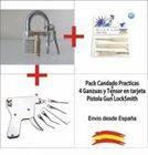 Pack Lock Picking - Pistola + Ganzuas + Candado