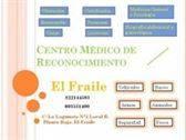 """Centro Médico de Reconocimiento """"El Fraile""""  CERTIFICADOS MÉDICOS."""