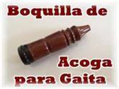 VENDO BOQUILLA DE ACOGA PARA GAITA