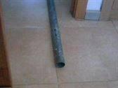 Tubo de hierro galvanizado inoxidable