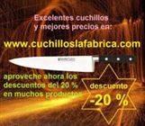 Venta de cuchillos para hogar, cocina y profesionales