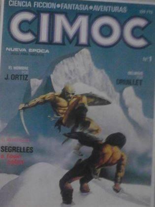"""REVISTA DE COMIC """"CIMOC"""""""