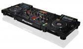 Pioneer CDJ-2000 Nexus (2) CD Speler 1 DJM-2000 DJ Mixe