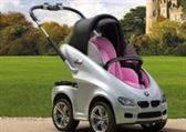 Cochecito de bebé BMW para la venta / BMW baby stroller for sale.