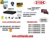 Oferta kit videovigilancia interior FULL HD 1080P