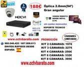 Oferta kit videovigilancia interior 94º HD