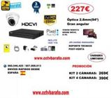 Oferta kit videovigilancia INTERIOR 94º FULL HD