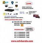 Oferta kit videovigilancia interior - exterior Varifocal HD