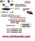 Oferta kit videovigilancia interior-exterior Varifocal  FULL HD