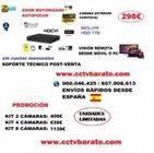 Oferta kit videovigilancia Zoom Motorizado FULL HD