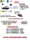 Oferta kit videovigilancia exterior Varifocal 100mts  HD