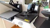 NUEVA prensa térmica personalizacion de camisetas vinilo textil transfer sublimacion