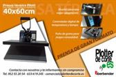 OFERTA nueva prensa termica 40x60 cm con muelles plancha transfer vinilo sublimacion gran formato