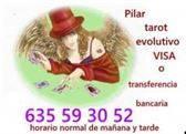 Pilar tarot evoltivo 635 59 30 52 visa o transferencia bancaria. Toda España