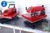 NUEVA prensa termica neumatica 40x50 cm resistencia giratoria base deslizable intercambiable