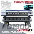 Impresora de sublimacion profesional Fedar FD1900 OFERTA LIMITADA