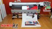 StormJet SJ7160-S impresora ecosolvente de 160 cm vinilo lona lienzos papel camisetas