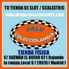 JUGUETERÍA SCALEXTRIC EN MADRID  DIEGO COLECCIOLANDIA