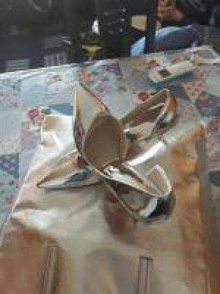 Bolso y zapatos
