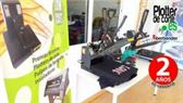 Plancha prensa termica transfer vinilo textil sublimacion OFERTA LIMITADA HASTA FIN DE MES