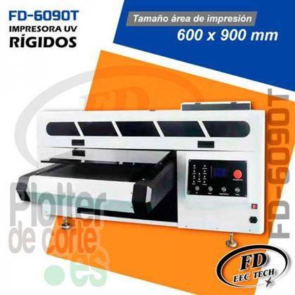 Impresora UV plana de 60x90 cm y 2 cabezales de impresion OFERTA LIMITADA