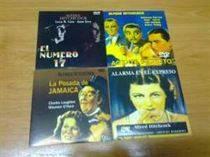VENDO PELICULAS DE HITCHCOCK EN DVDs