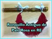 VENDO RONQUILLO ANTIGUO DE PALO ROSA EN RE