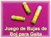 VENDO JUEGO DE BUJAS DE BOJ PARA GAITA