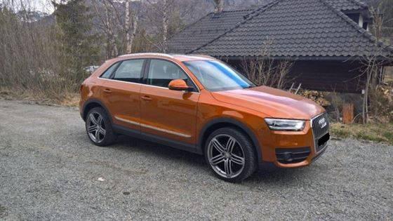 Audi Q3 2.0 TDI 140 FWD HK