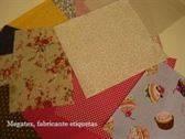 Etiqueta algodón termo adhesiva para geriátricos