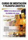 CURSO DE MEDITACIÓN Y FILOSOFÍA GNÓSTICA, de Entrada Libre