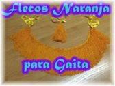 VENDO FLECOS NARANJA PARA RONCO DE GAITA