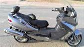 Vendo Suzuki Burgman 650 año 2008 - 53.000 Km. buen estado