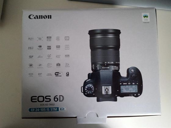 Canon EOS 6D 20.2 MP Cámara Digital SLR Full Frame
