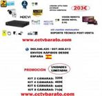Oferta kit videovigilancia exterior  VARIFOCAL FULL HD