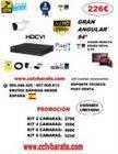 Oferta kit videovigilancia exterior 94º FULL HD