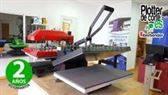 NUEVA prensa térmica 40x60 cm con muelles OFERTA LIMITADA profesional